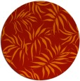 rug #444925 | round red natural rug