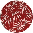 rug #444929 | round red natural rug