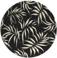 rug #444989   round black natural rug