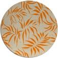 rug #444997 | round beige natural rug