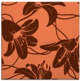 rug #445585 | square orange natural rug