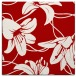rug #445625 | square red natural rug