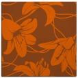 rug #445649 | square red-orange natural rug