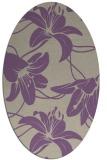 rug #445917 | oval beige popular rug