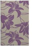 rug #446269 |  purple popular rug