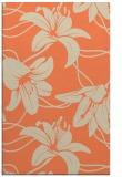 rug #446285 |  orange natural rug