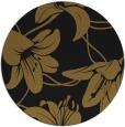 rug #446557 | round mid-brown natural rug