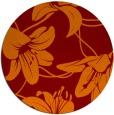 rug #446630 | round natural rug