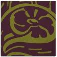rug #447373 | square purple graphic rug