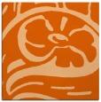 rug #447405 | square red-orange graphic rug