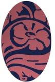 rug #447590 | oval abstract rug