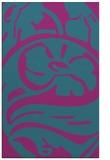 rug #447913 |  pink abstract rug