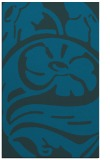 rug #447925 |  blue-green graphic rug