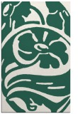 rug #447981 |  green graphic rug
