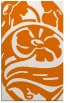 rug #448041 |  orange graphic rug