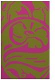 rug #448177    light-green abstract rug