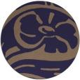 rug #448309 | round blue-violet rug