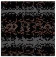 rug #452433 | square black animal rug