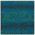 rug #452505 | square blue rug