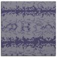 rug #452513 | square blue-violet animal rug