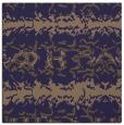 rug #452533 | square blue-violet animal rug