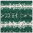 rug #452557   square green rug