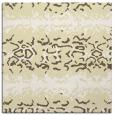 rug #452717 | square yellow animal rug
