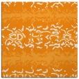 rug #452769 | square light-orange animal rug
