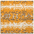 rug #452773 | square light-orange animal rug