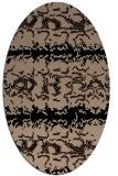 rug #452790 | oval animal rug