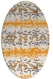 rug #453126 | oval animal rug