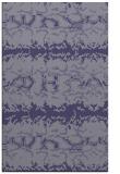 rug #453217    blue-violet animal rug