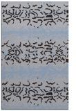 rug #453241 |  blue-violet popular rug