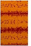 rug #453317 |  red-orange animal rug