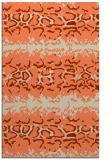 rug #453325    orange animal rug