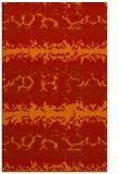 rug #453373 |  orange animal rug