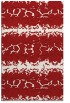 rug #453377 |  red popular rug