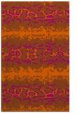 rug #453393 |  red-orange rug