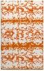 rug #453397 |  red-orange animal rug