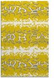 rug #453429 |  yellow animal rug