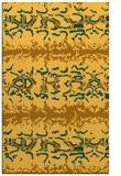 rug #453433 |  yellow popular rug