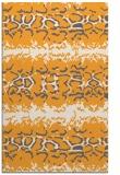 rug #453477 |  light-orange animal rug