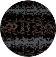 rug #453489 | round black rug