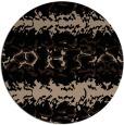 rug #453493 | round beige animal rug