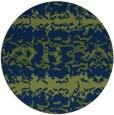 rug #453517 | round blue animal rug