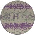 rug #453661 | round purple animal rug