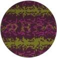 rug #453709 | round green popular rug