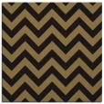 rug #454205 | square black stripes rug