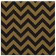 rug #454301 | square black stripes rug