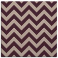 rug #454341 | square pink retro rug